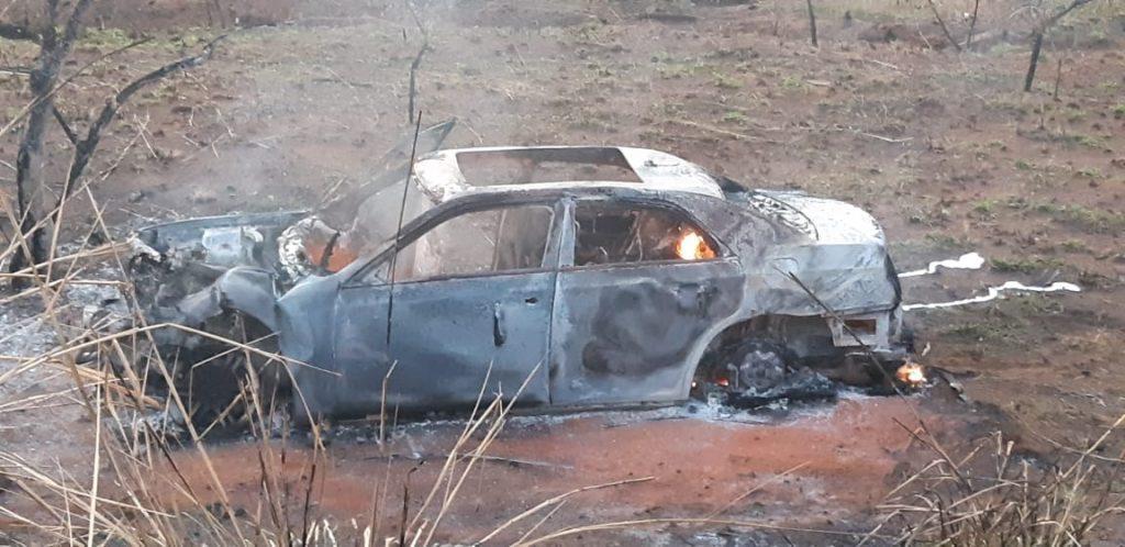 Acidente na BR-365 deixa um morto e dois feridos