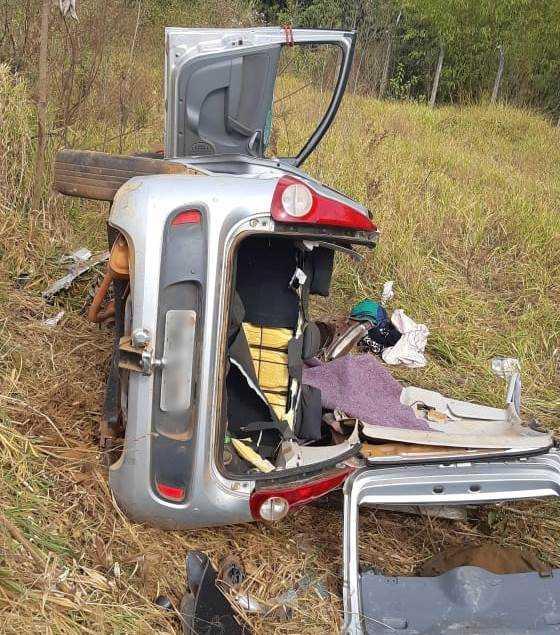 Morre a terceira vítima do acidente da BR-365