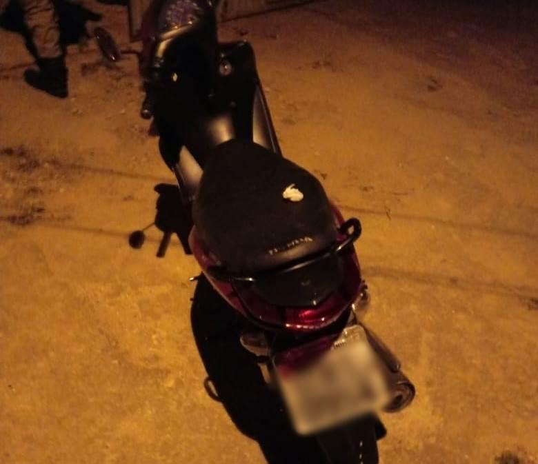 PM de Patrocínio recupera moto furtada