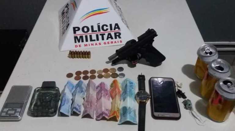 PM prende suspeitos de participar de crimes em Paracatu-MG