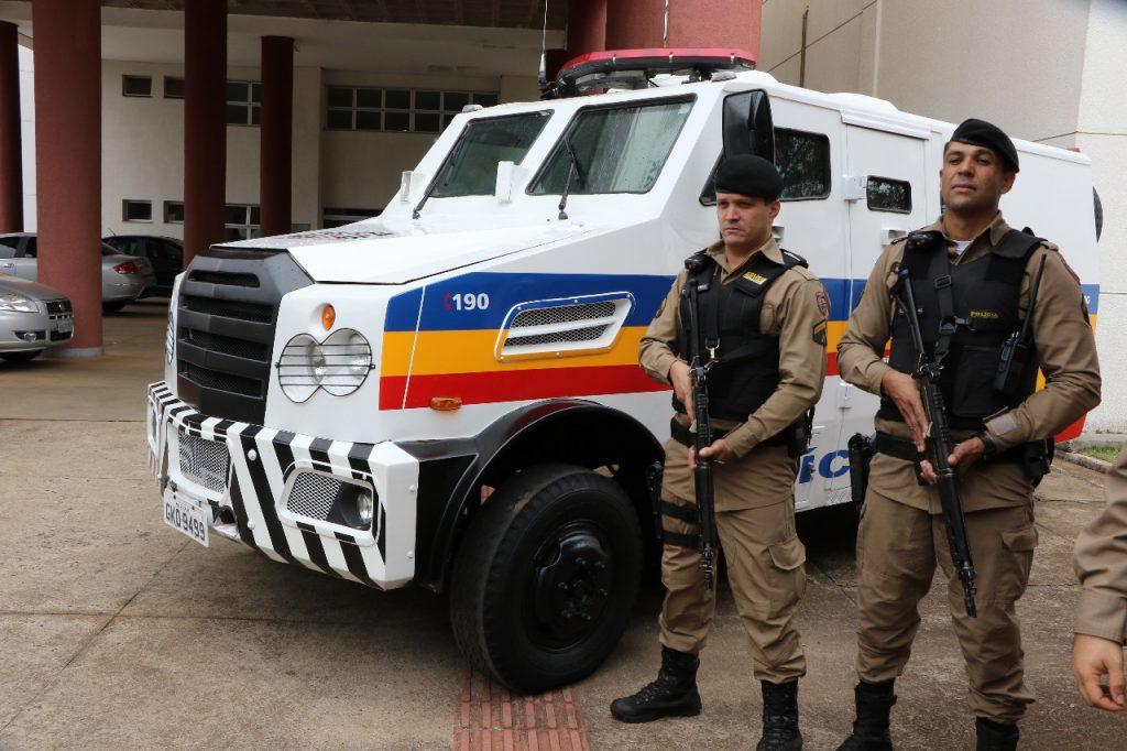 PM recebe blindados para combater criminalidade em Uberaba