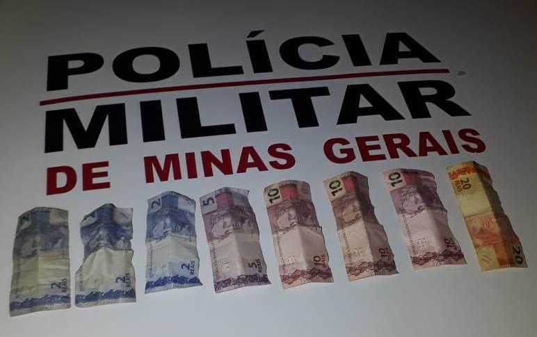 PM apreende suspeito de assaltar lanchonete em Monte Carmelo