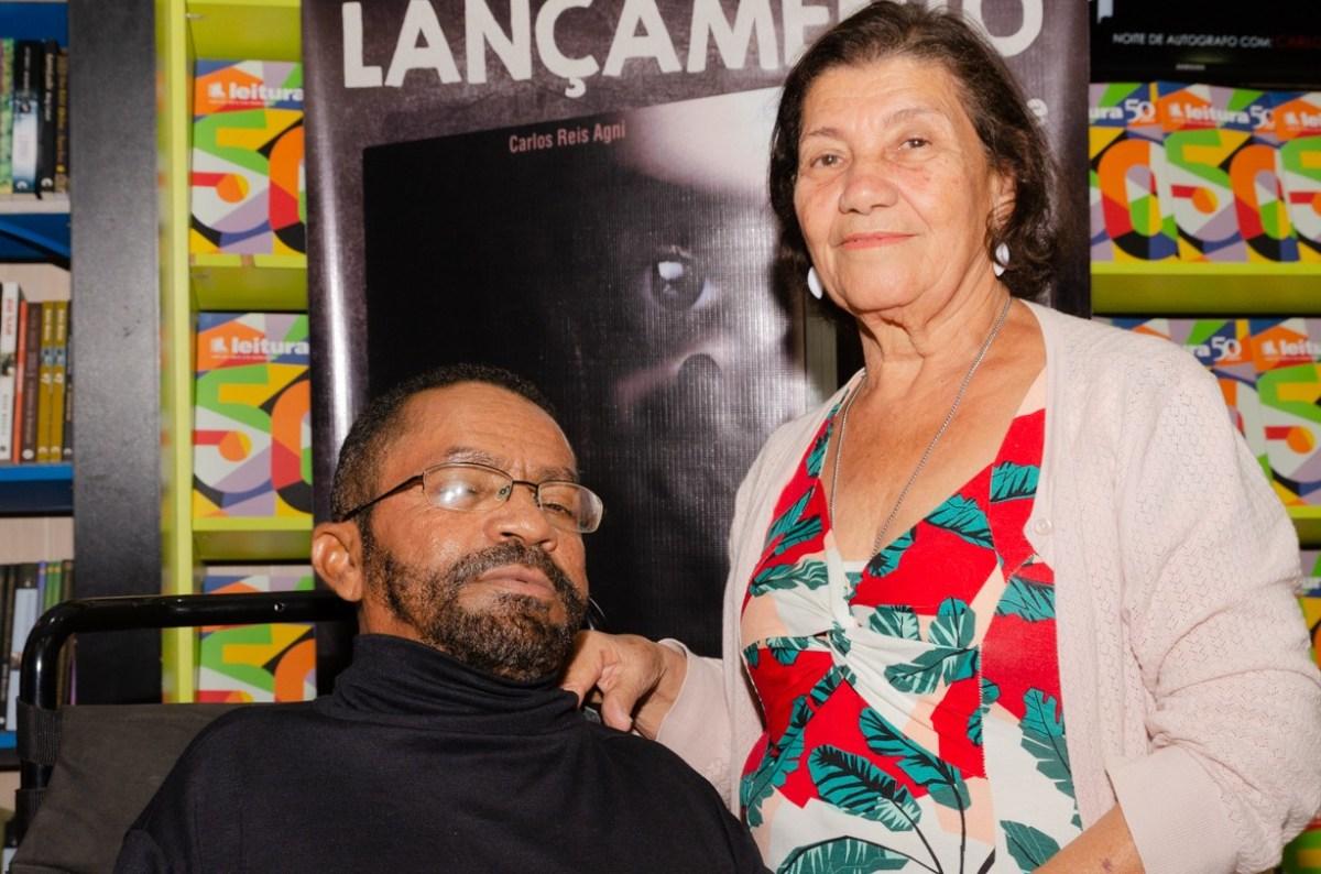 Carlos Reis Agni e Nancy Santiago