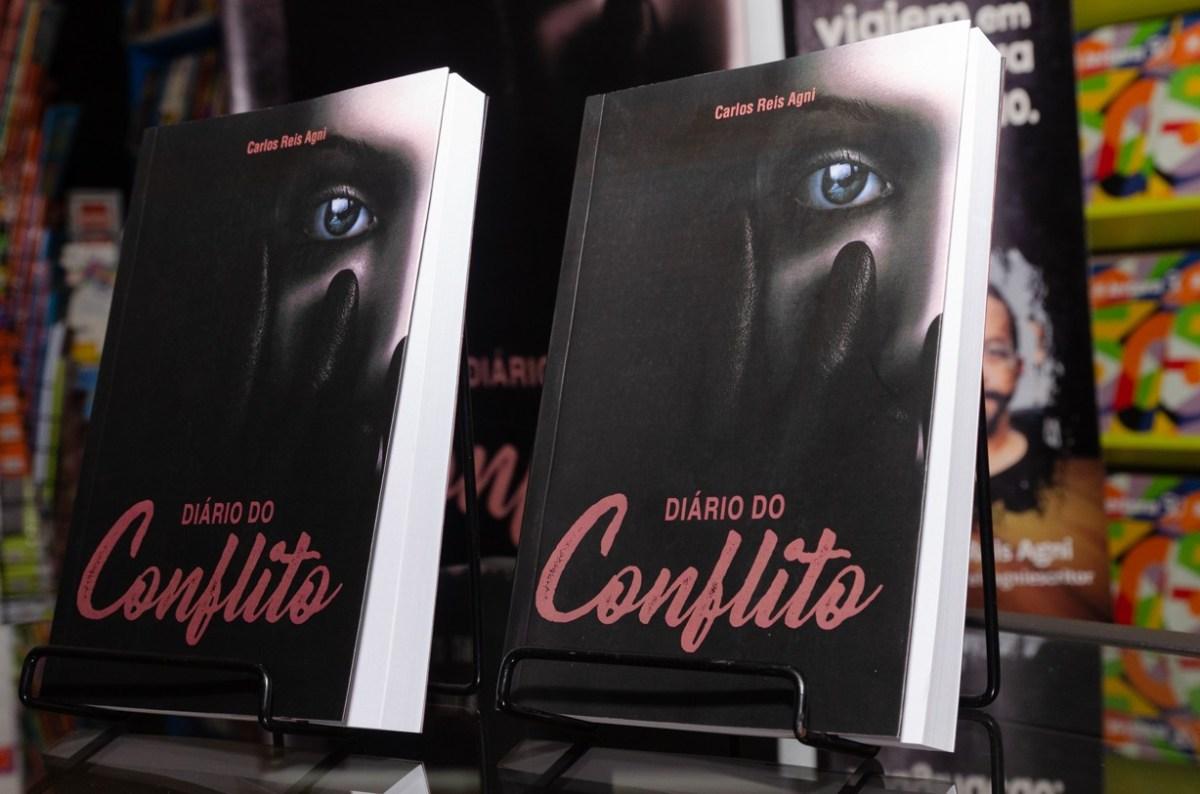 Capa do Livro Diário do Conflito