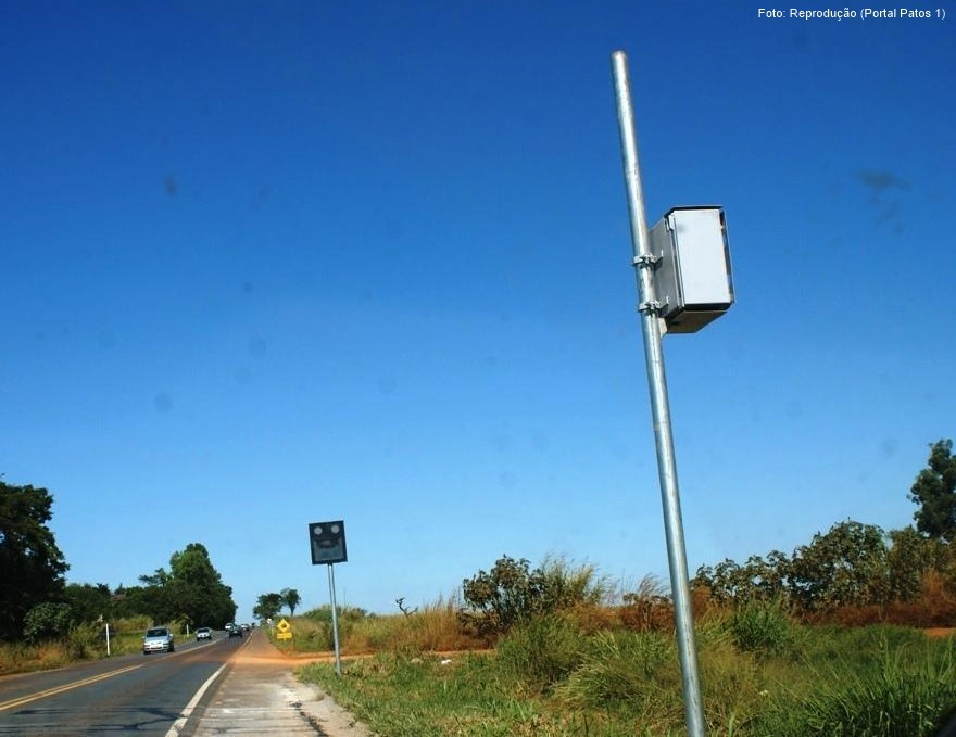 Radares da BR-365 e da BR-354 são retirados
