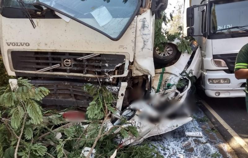 Acidente na BR-262 engavetamento causou uma morte (1)