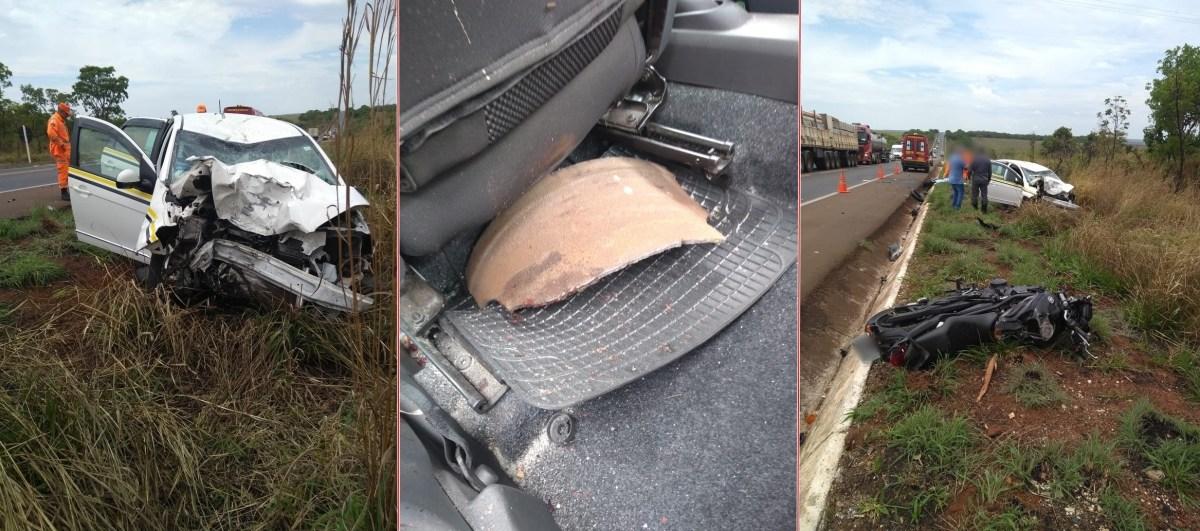Tragédia: Peça se solta de caminhão e dois homens morrem na BR-365