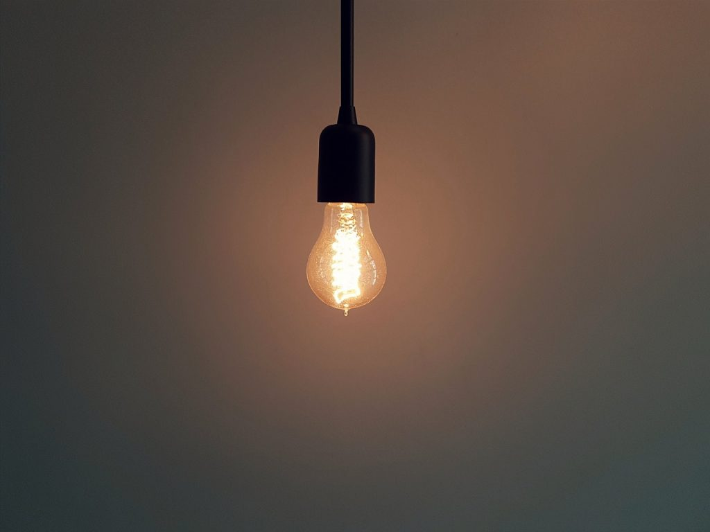 energia conta luz lampada