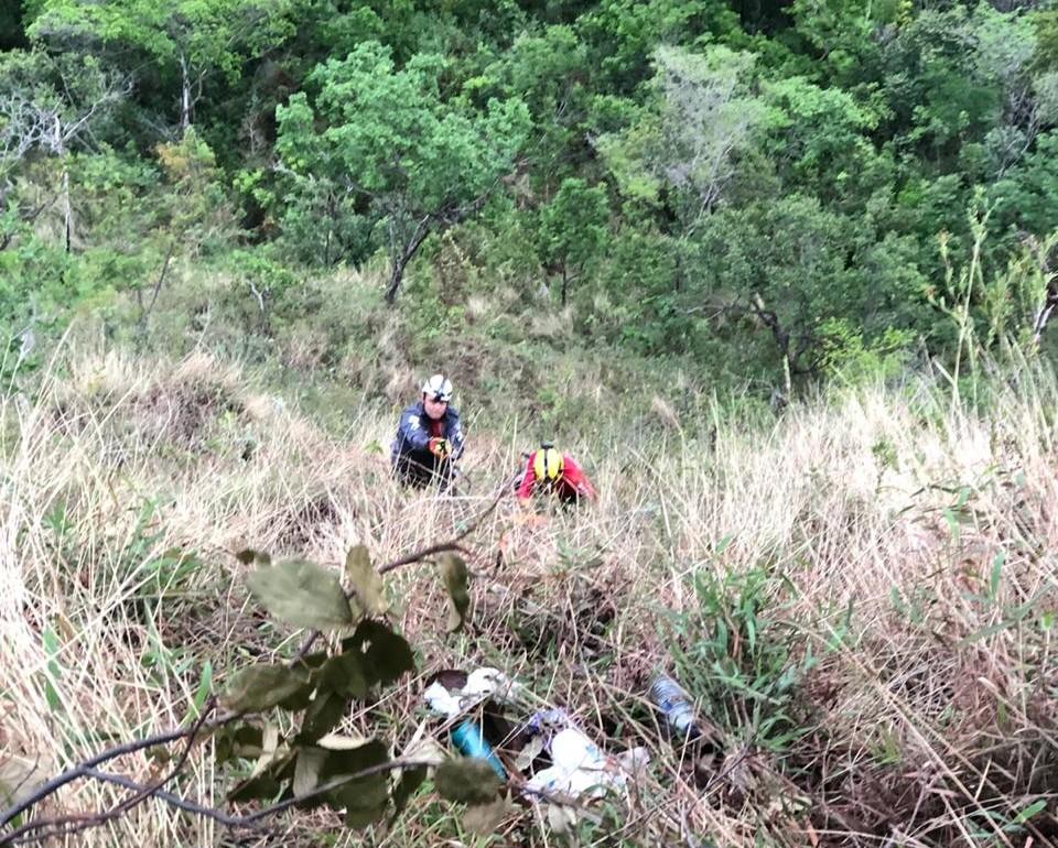 Homem morre ao cair de ribanceira na Serra do Cipó