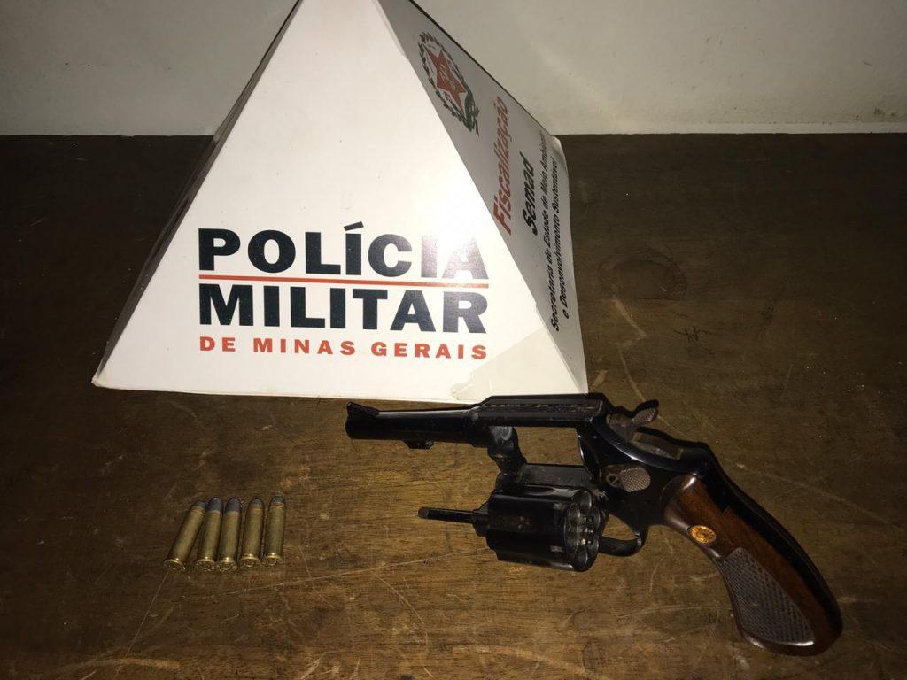 Arma apreendida em Patrocínio