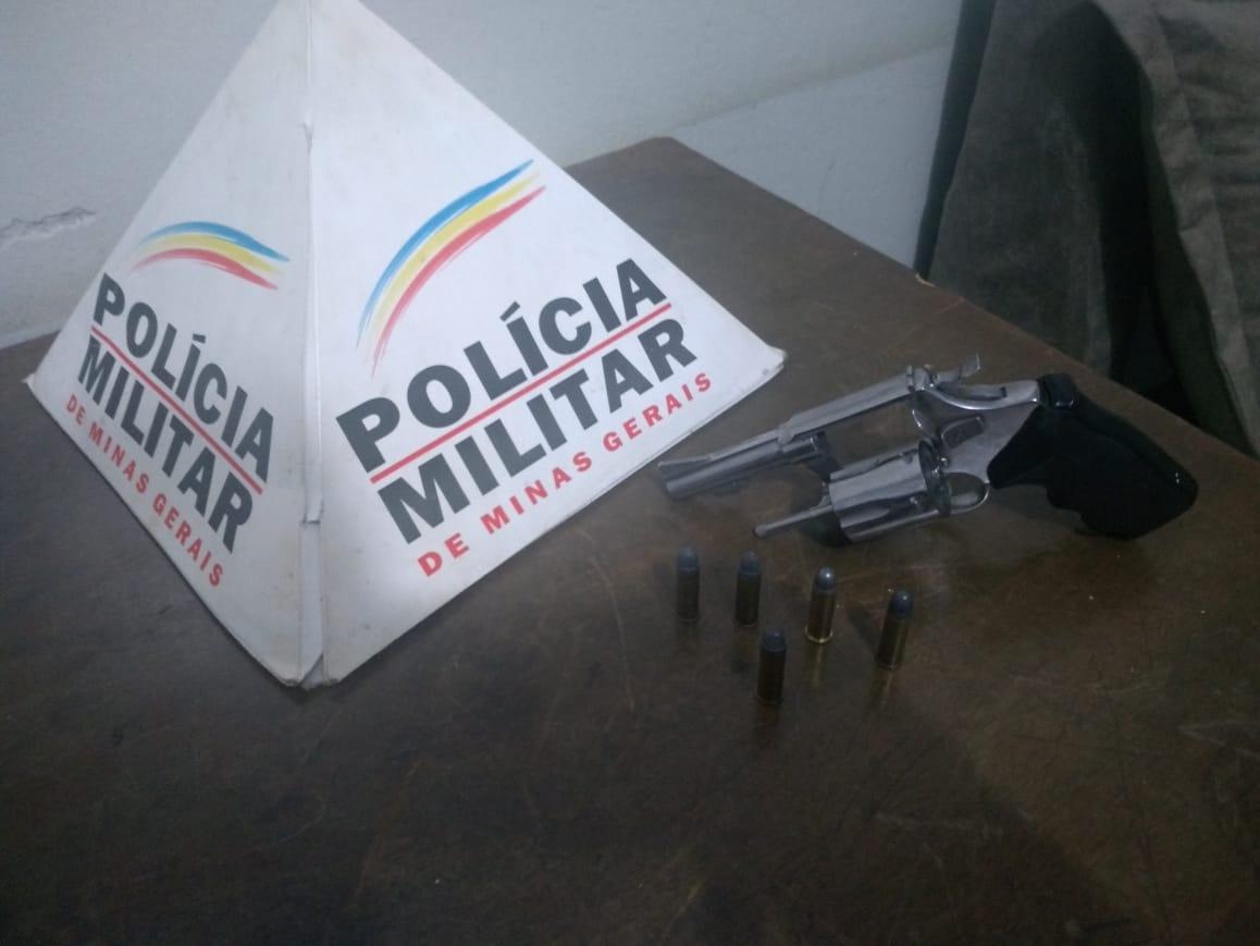 Monte Carmelo - revólver - suspeita de ameaça