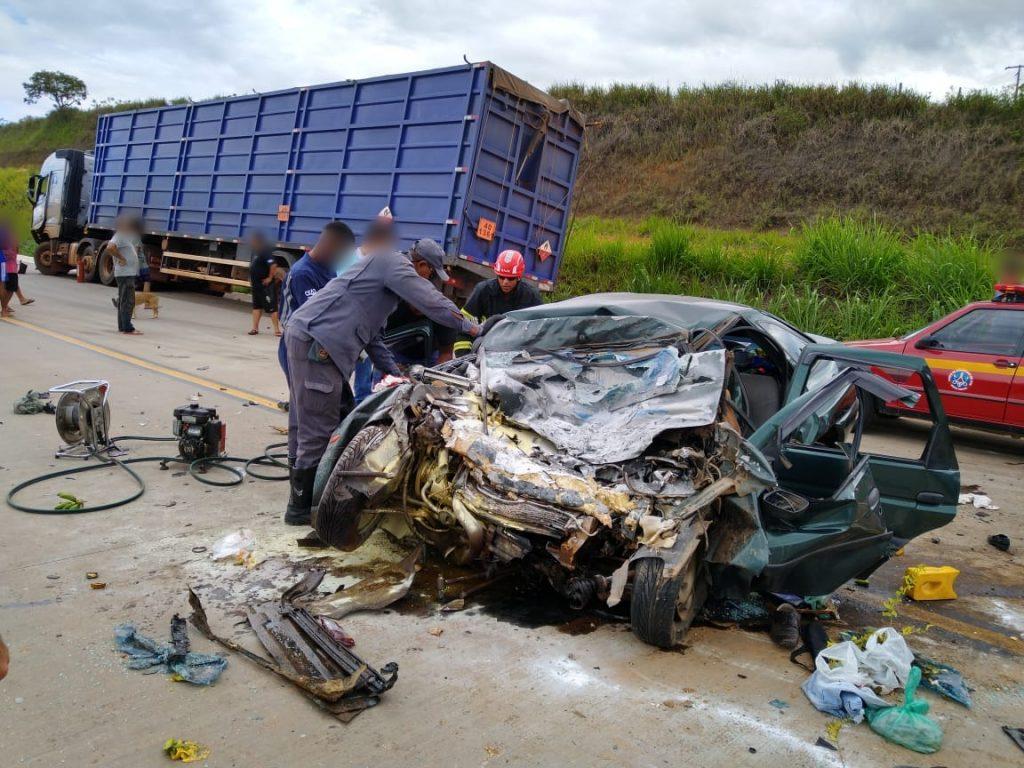 acidente na BR 381
