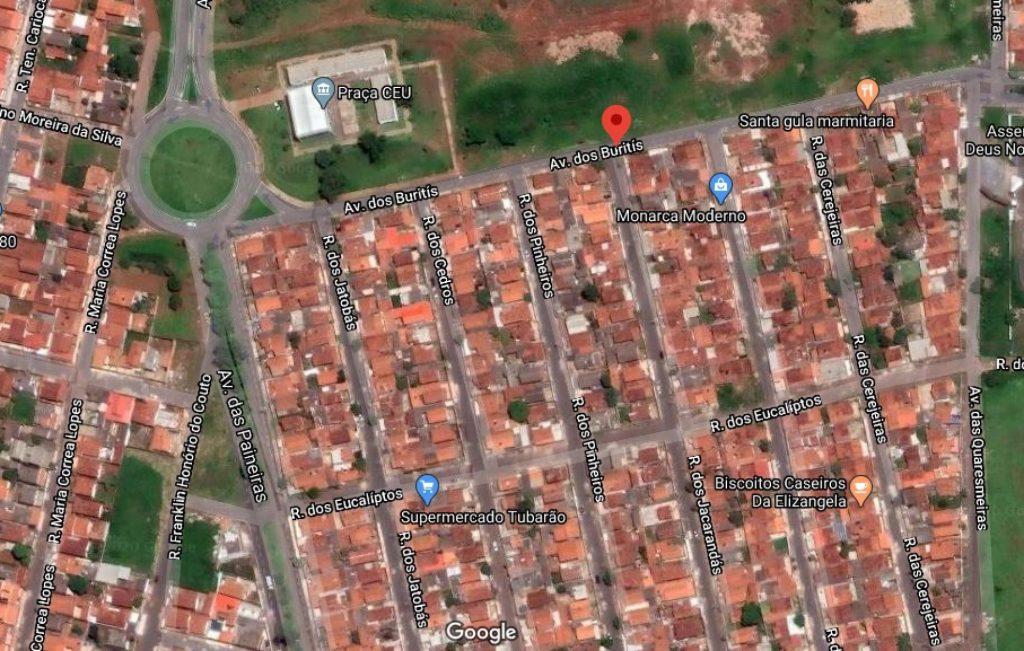 Avenida dos Buritis em Patos de Minas