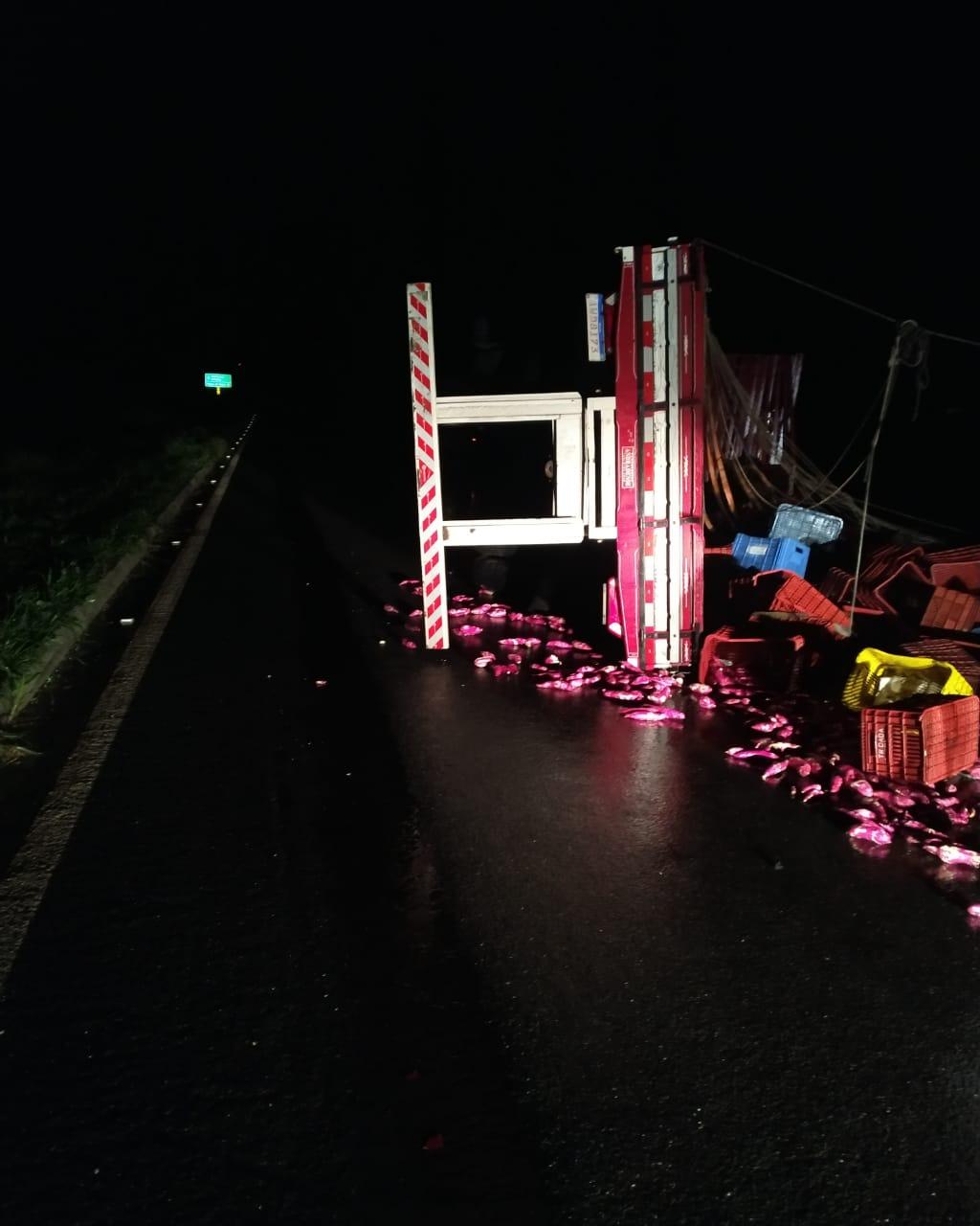 Acidente BR 146 Serra do Salitre