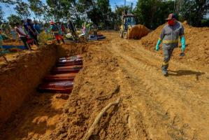 Mortes novo coronavírus em Manaus