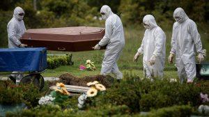 morte covid 19 enterro