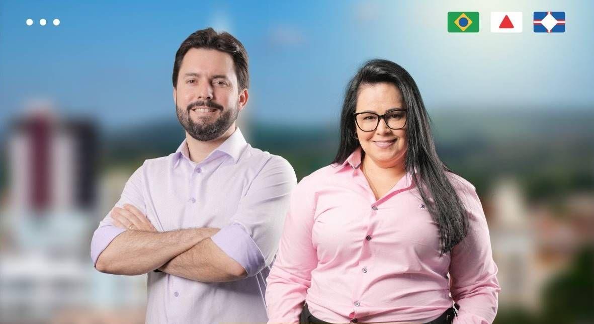 Luis Eduardo Falcão e Sandra Gomes