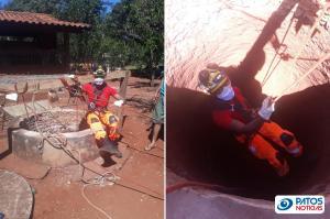 Resgate de Cisterna em Ituiutaba-MG