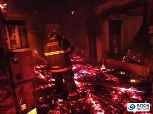 Clínica é incendiada em Guimarania (3)