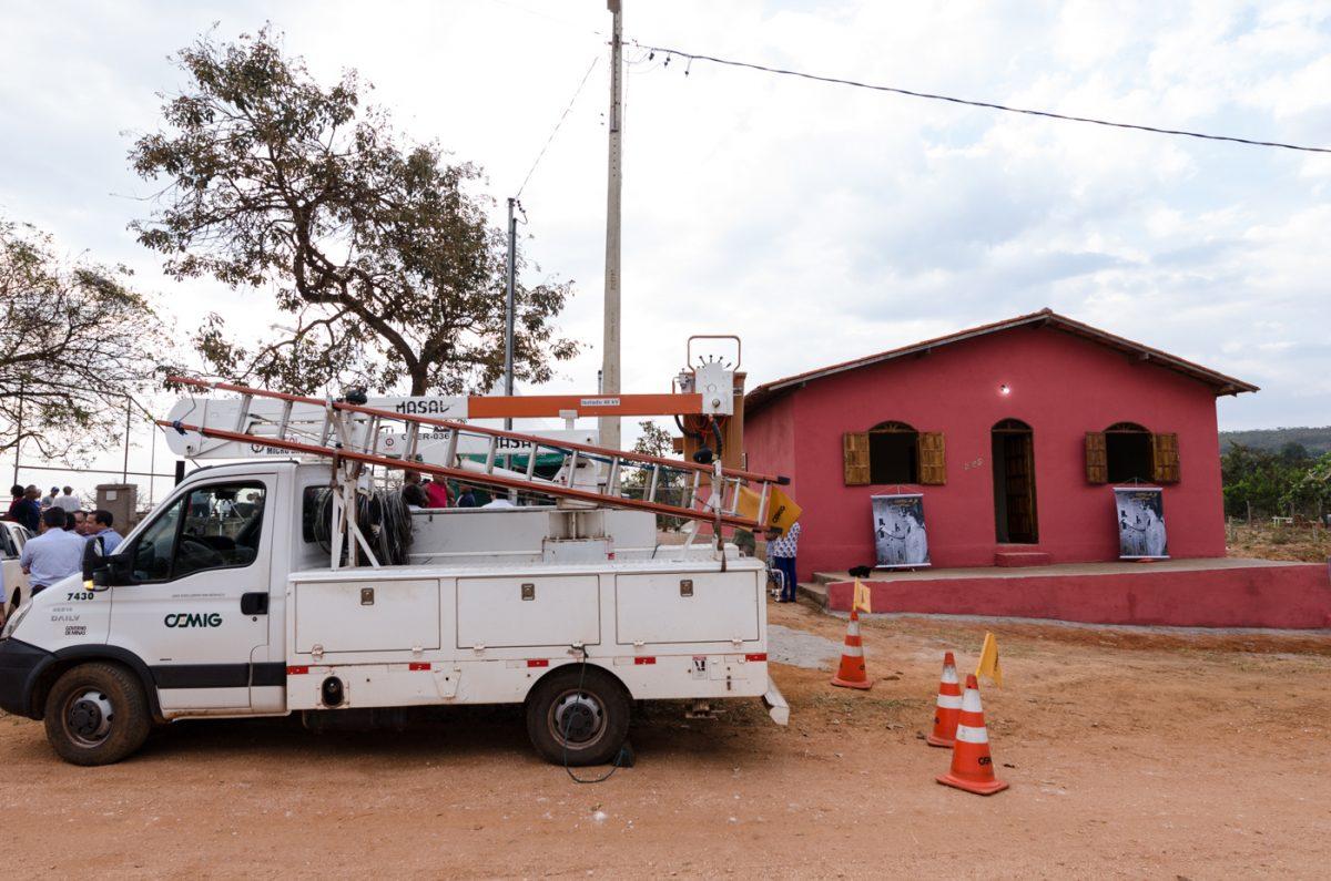 Rede elétrica rural