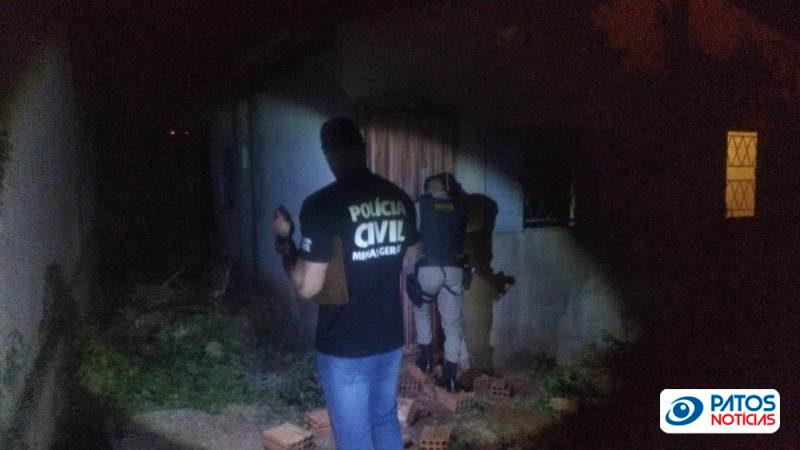 agressão, tortura e carcere privado em Patos de Minas
