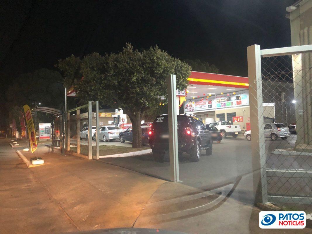 corrida aos postos de combustíveis em Patos de Minas (3)
