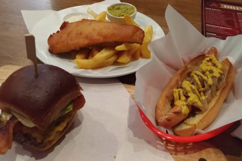 Amerocompensating in BKK Part 1: Burgers and Brats
