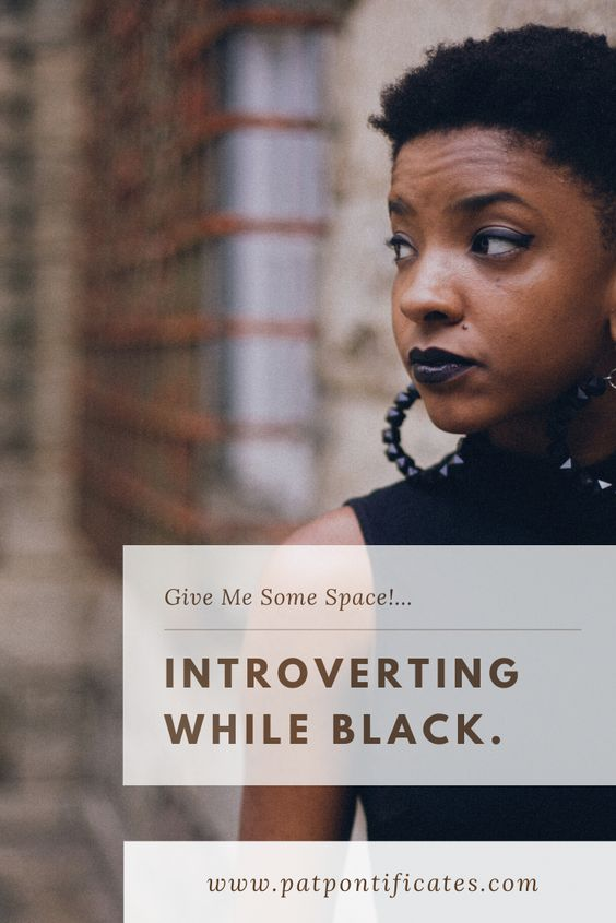 black and introvert