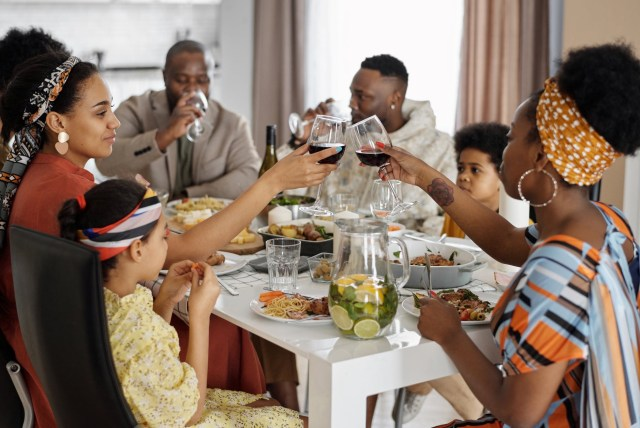 Thanksgiving dinner - introverted black girl blog post
