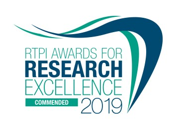 RailSmart receives a commendation in the Royal Town Planning Institute's Awards for Research Excellence 2019