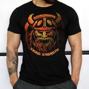 Aesir Sports Slim Fit T-Shirt - Viking Strength