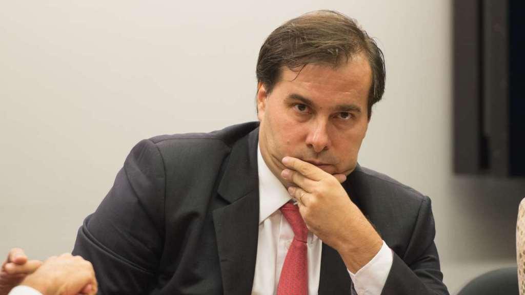 Rodrigo Maia defende a CPMI das Fake News