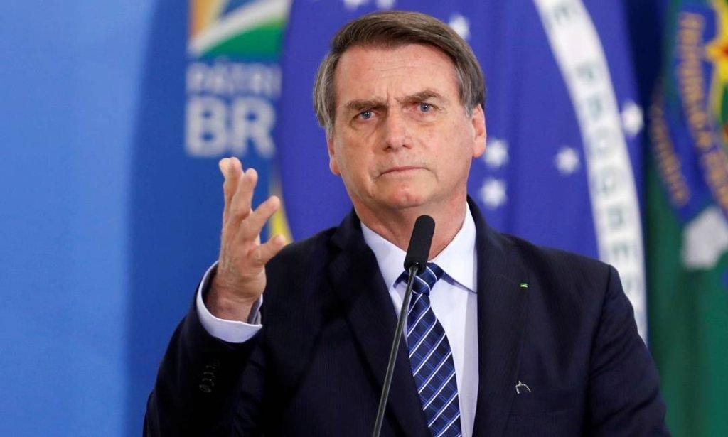 Bolsonaro fala da má vontade da imprensa em noticiar fatos positivos. Assista o vídeo!