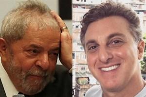 Lula viaja em jatinho da empresa de Luciano Huck