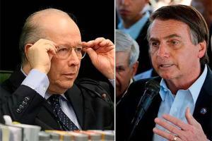 Celso de Mello determina depoimento presencial de Bolsonaro.