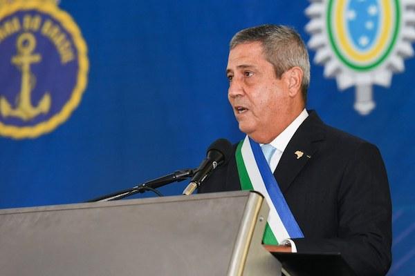 """""""Forças Armadas estão coesas e disciplinadas na preservação dos mais caros valores nacionais"""", diz Gen. Braga Neto"""
