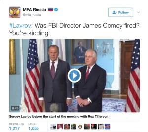 comey fired