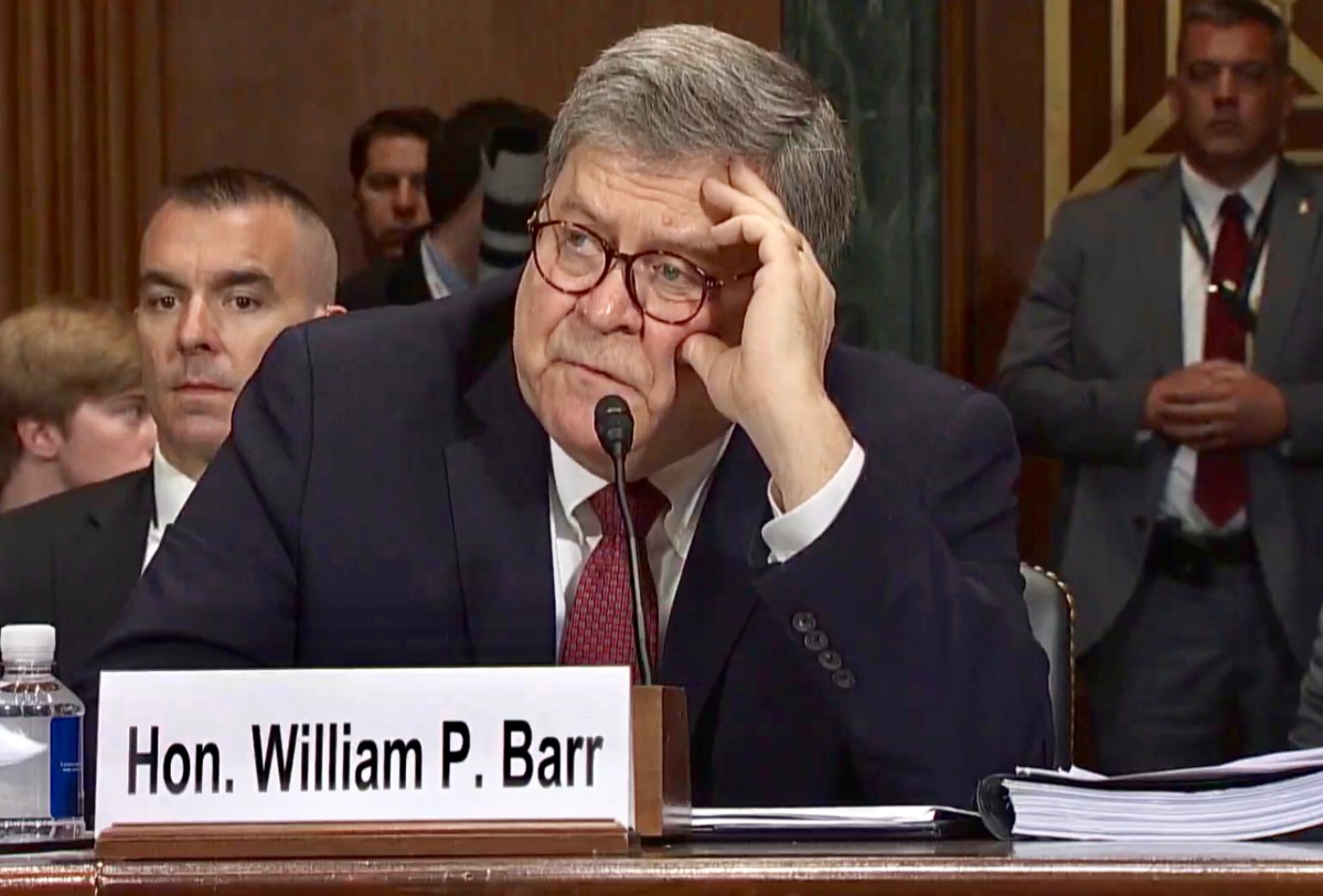 Exit, Pursued by a Barr