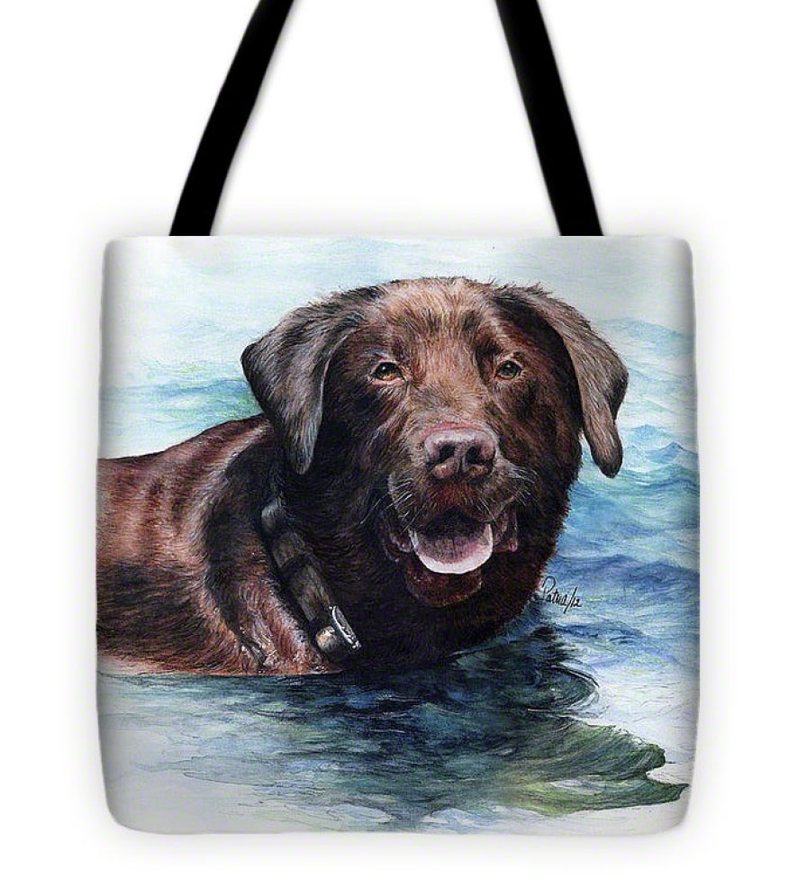Chocolate Lab Tote-Bag - Product by Patrice