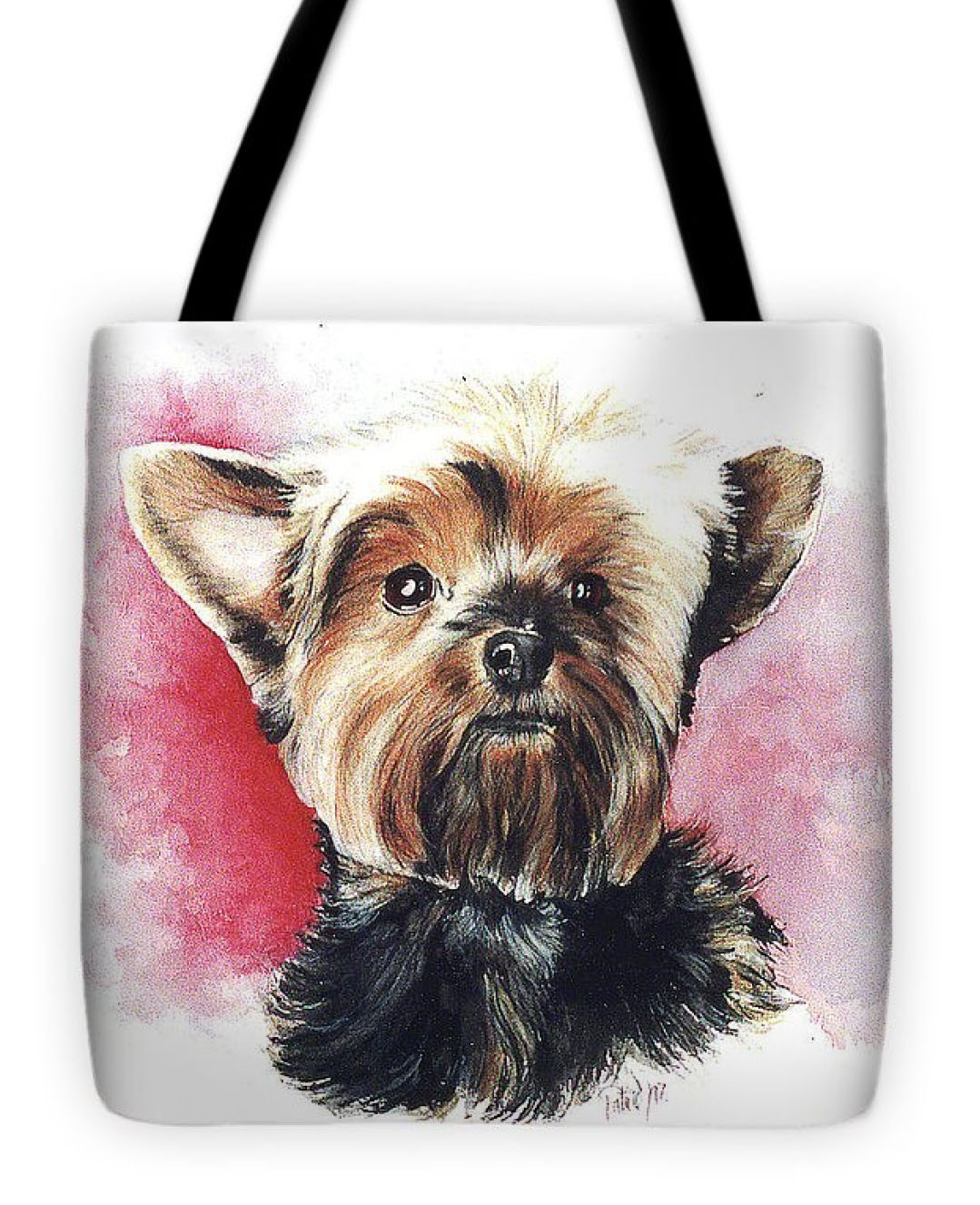 Yorkie Tote-Bag - Product by Patrice