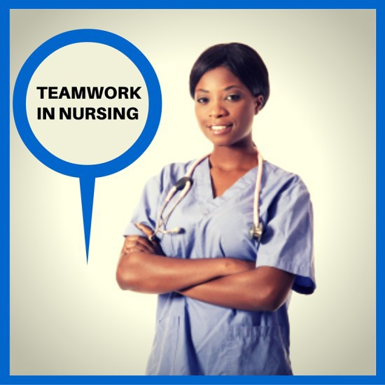 Nurses teamwork matters not about the color of our shoes
