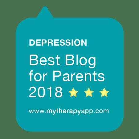 MyTherapy Badge - Best Depression Blog for Parents