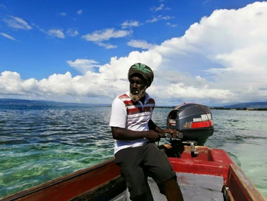 #Boat Captain to Pelican Bay #Negril local fisherman
