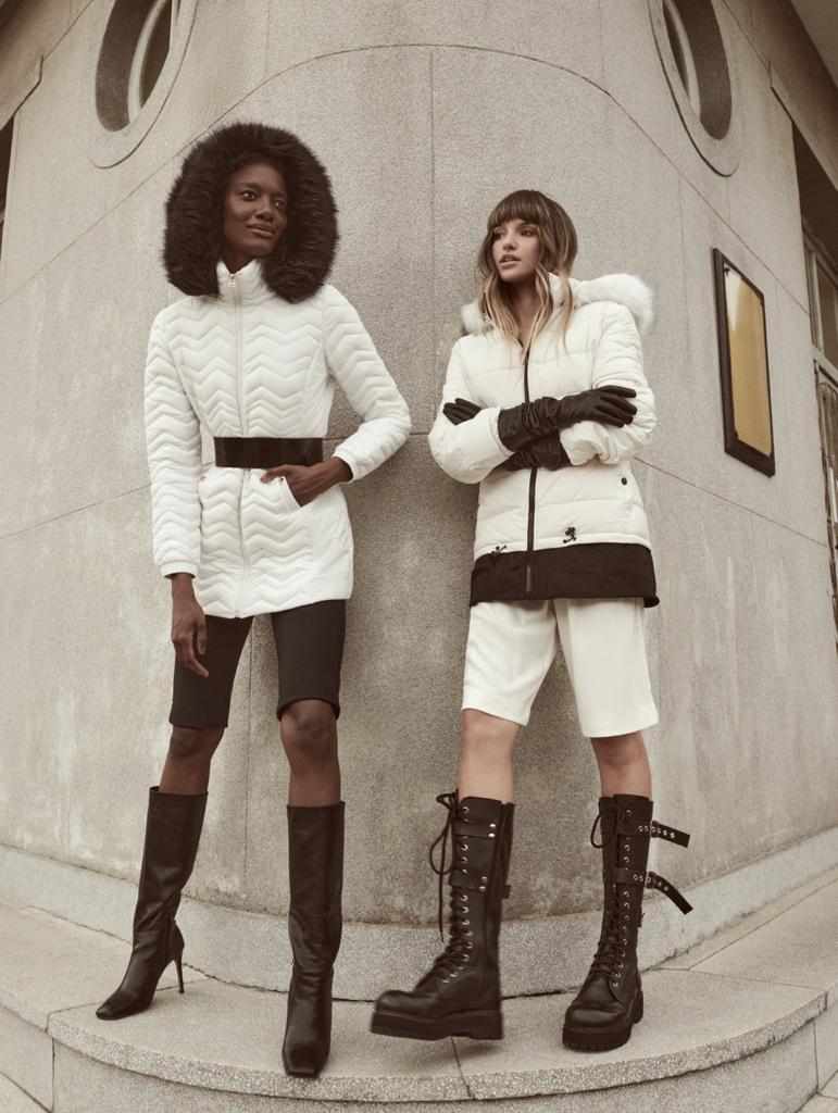 modelos usando jaquetas Patricia Azz