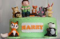 Percy the Park Keeper birthday cake