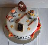 Celebration cakes - making a Harry Potter birthday cakeCelebration cakes - making a Harry Potter birthday cake