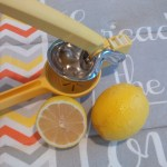 Sunny Yellow Lemon Juicer