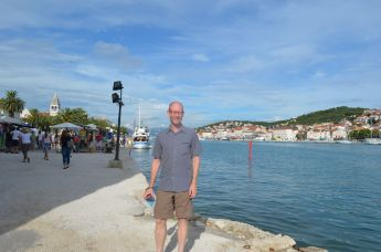 On the waterfront in Trogir.