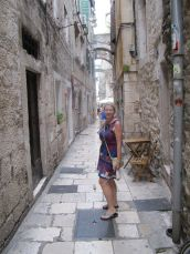 Tiny Walkways in Trogir.