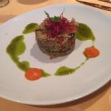 Vegan quinoa salad.